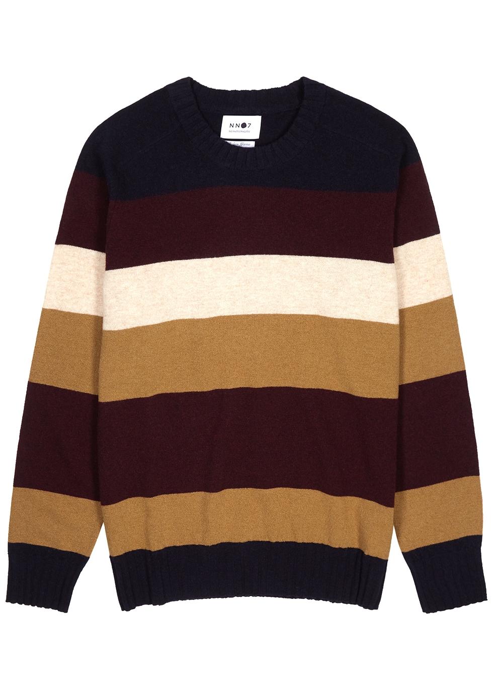 Edgar striped wool jumper