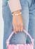 Smiley Dude beaded pearl bracelet - WALD Berlin