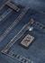 Blue distressed slim-leg jeans - Dolce & Gabbana