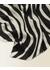 Zebra oversized silk scarf - Jigsaw