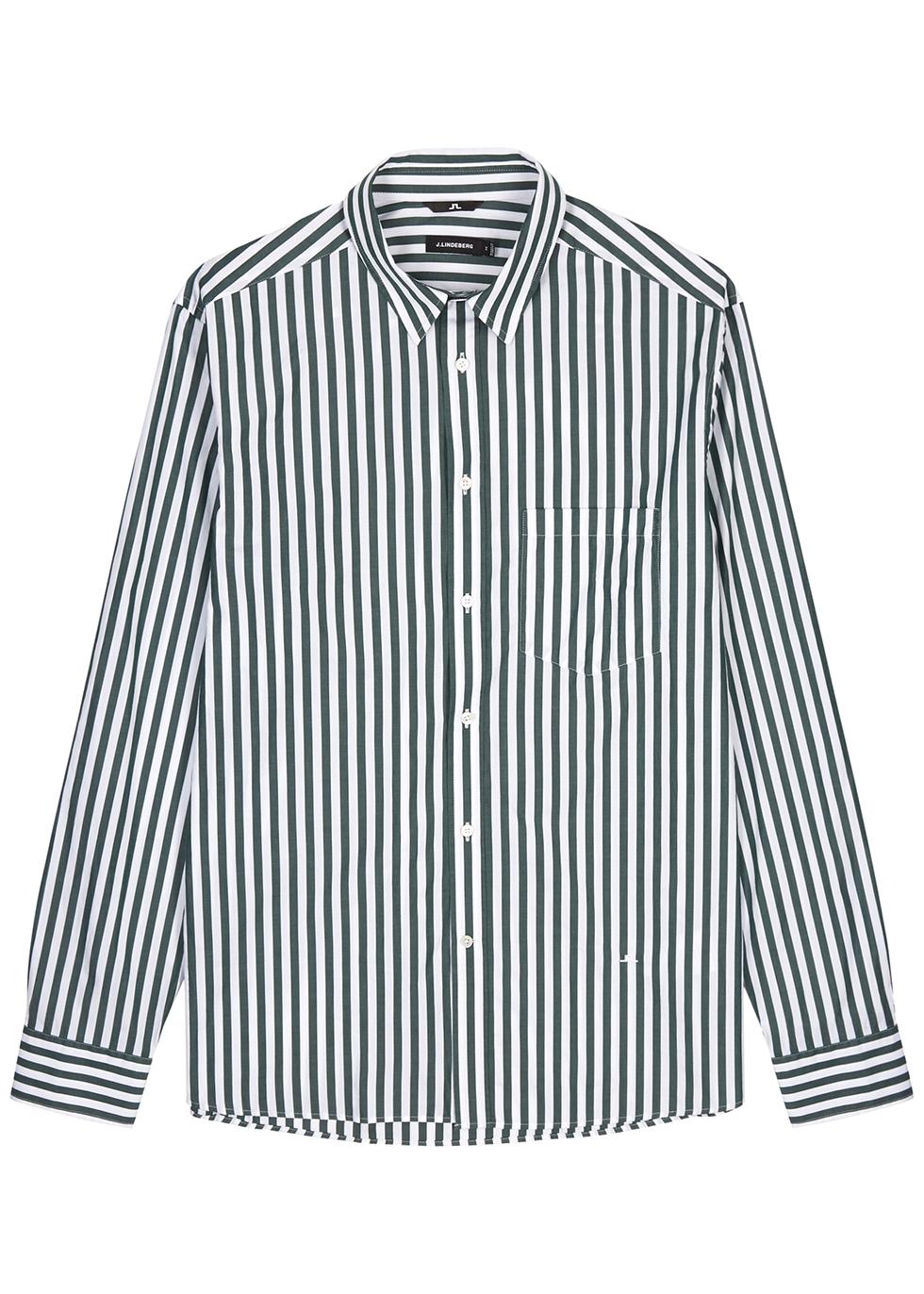Daniel white striped cotton shirt