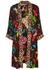 Avila black printed reversible kimono - Alice + Olivia
