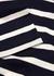 Striped cotton T-shirt - Sunspel