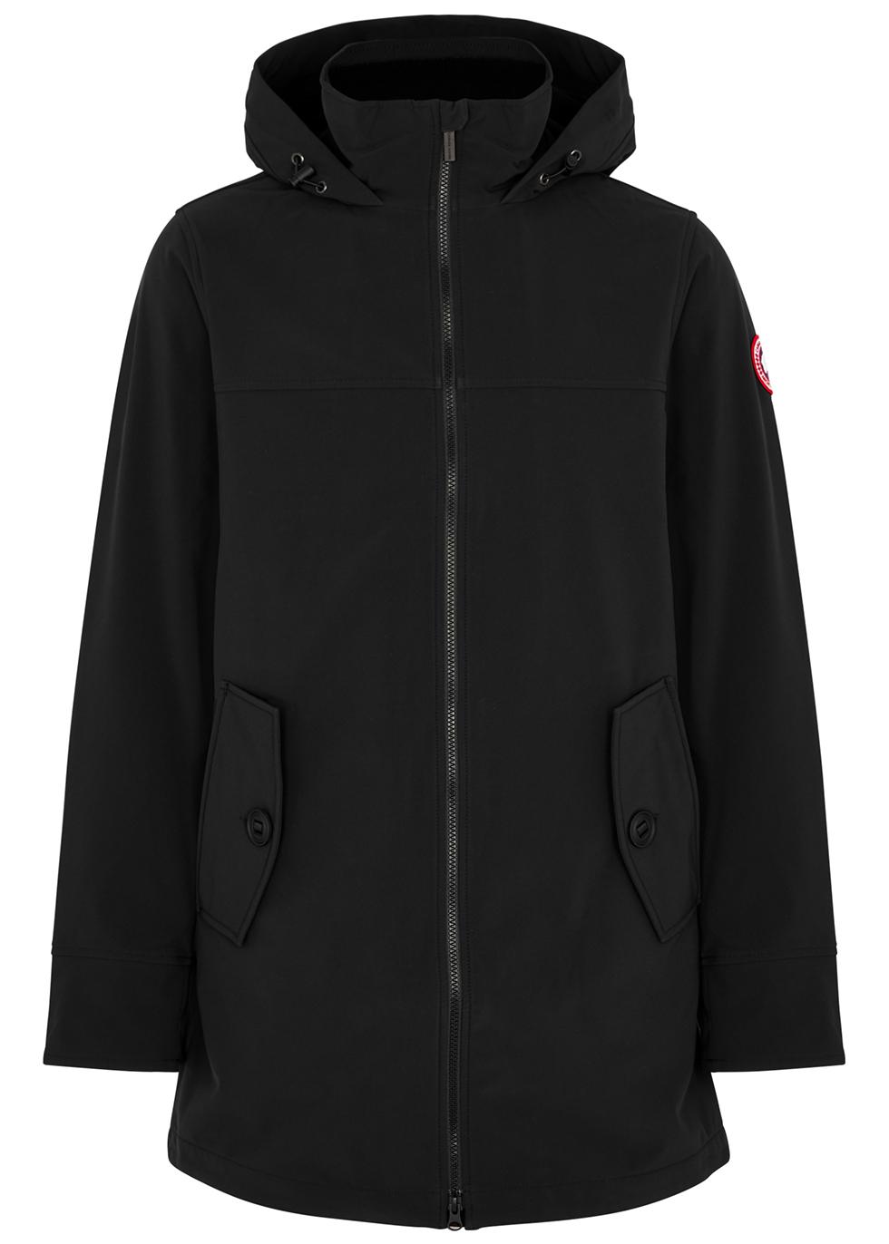 Kent black Tri-Durance shell jacket