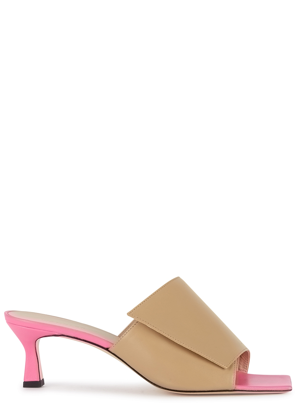 Isa 50 camel leather sandals