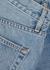 London light blue straight-leg jeans - SLVRLAKE
