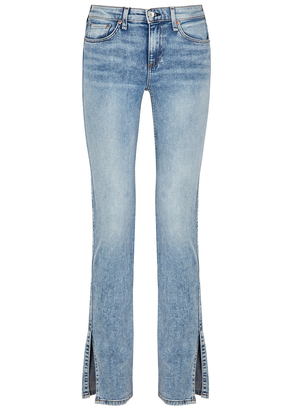 Cate light blue slim-leg jeans