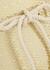 Yasmin gold metallic-weave swimsuit - Lisa Marie Fernandez