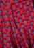 Ryan printed cotton mini dress - RHODE