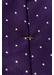 Purple polka dot silk tie - Eton