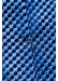 Blue geometric silk tie - Eton