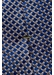 Brown geometric silk tie - Eton