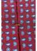 Red paisley print tie - Eton