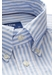 Soft blue striped royal oxford shirt - contemporary fit - Eton
