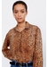 Loose-fitting animal-printed mea shirt - Gerard Darel