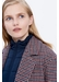 Houndstooth perry coat with sleeveless puffer jacket - Gerard Darel