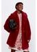 Short fur-style perrine coat - Gerard Darel