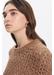Fancy knit sulivan sweater in alpaga and merinos wool - Gerard Darel