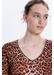 Light wool leopard print shiraz sweater - Gerard Darel