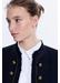 Loop stitch valia jacket with toggles - Gerard Darel