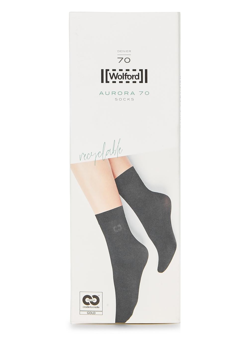 Aurora black 70 denier socks