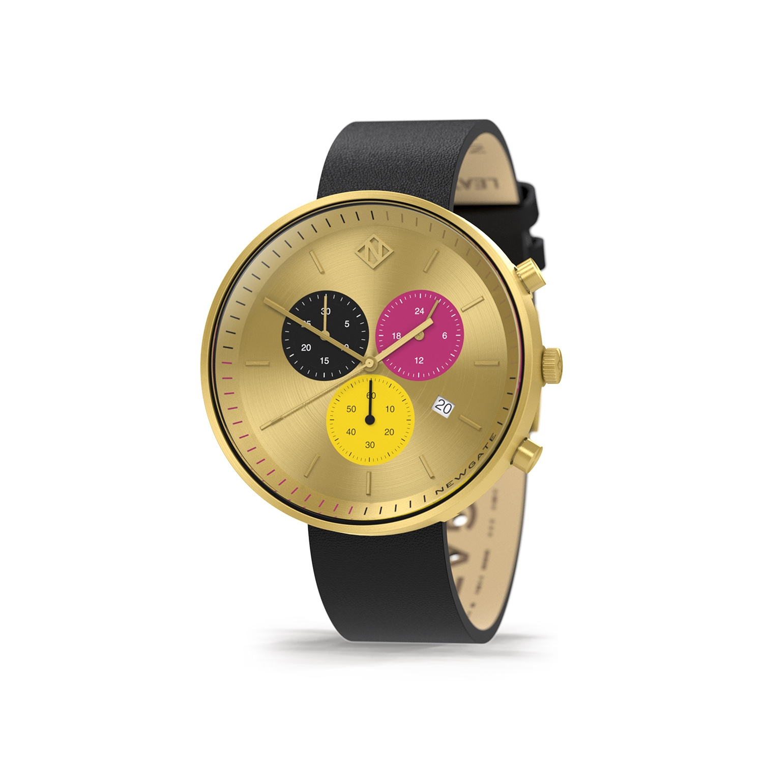 G6s honey - womens chronograph watch - contemporary gold - Newgate