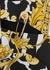 Baroque-print cady mini dress - Young Versace