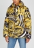 Baroque-print quilted shell jacket - Young Versace