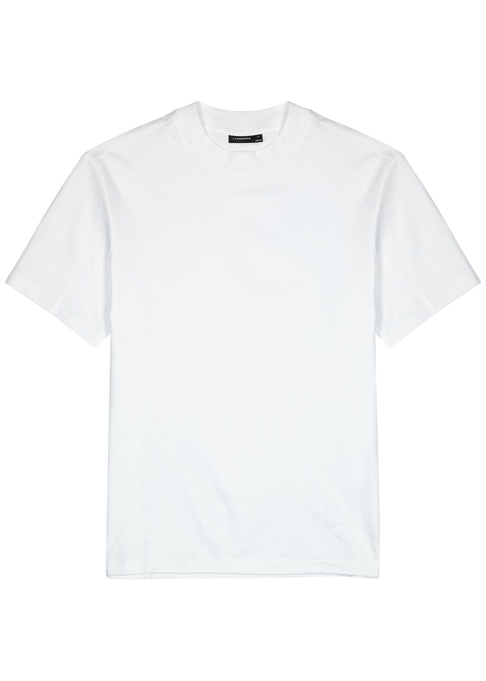 Ace white cotton T-shirt