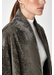 Stand collar shearling coat - Gushlow & Cole