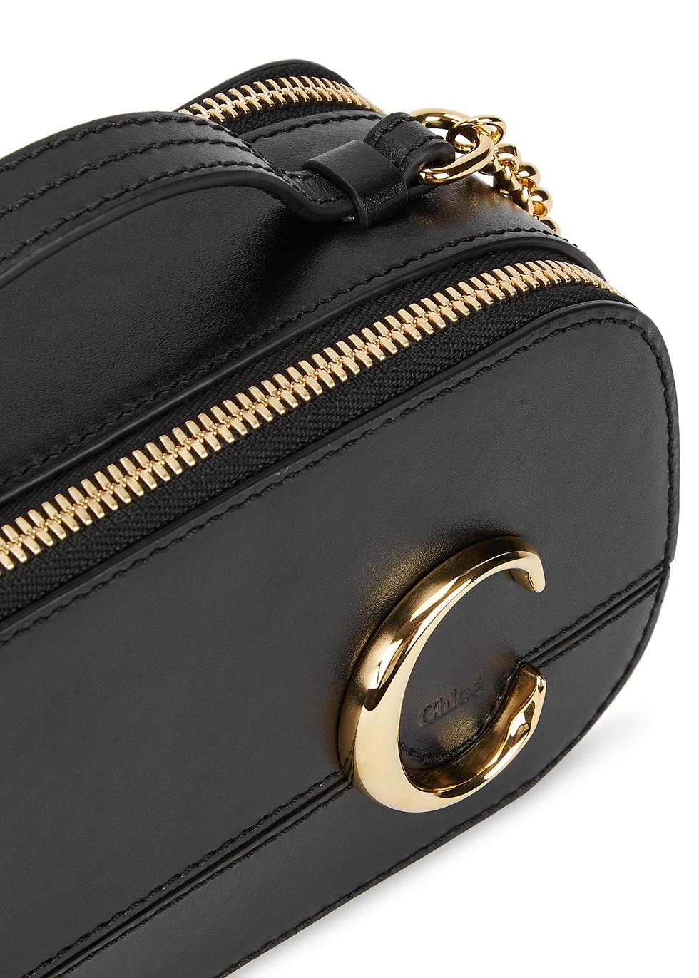 Chloé Chloé C Vanity mini leather cross body bag Harvey