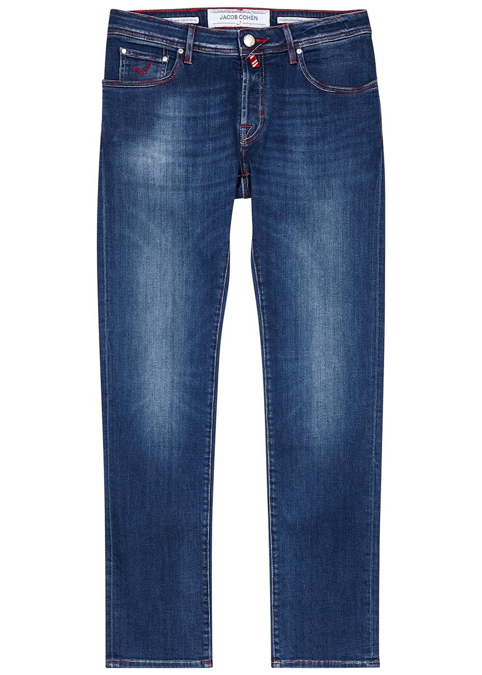 J622 blue slim-leg jeans