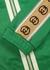 Green logo-jacquard jersey sweatshirt - Gucci