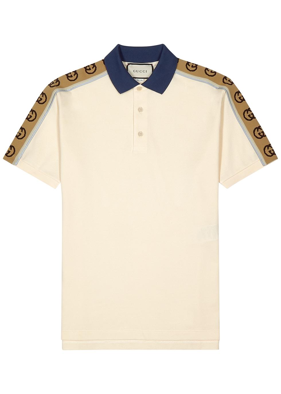 off white polo shirt