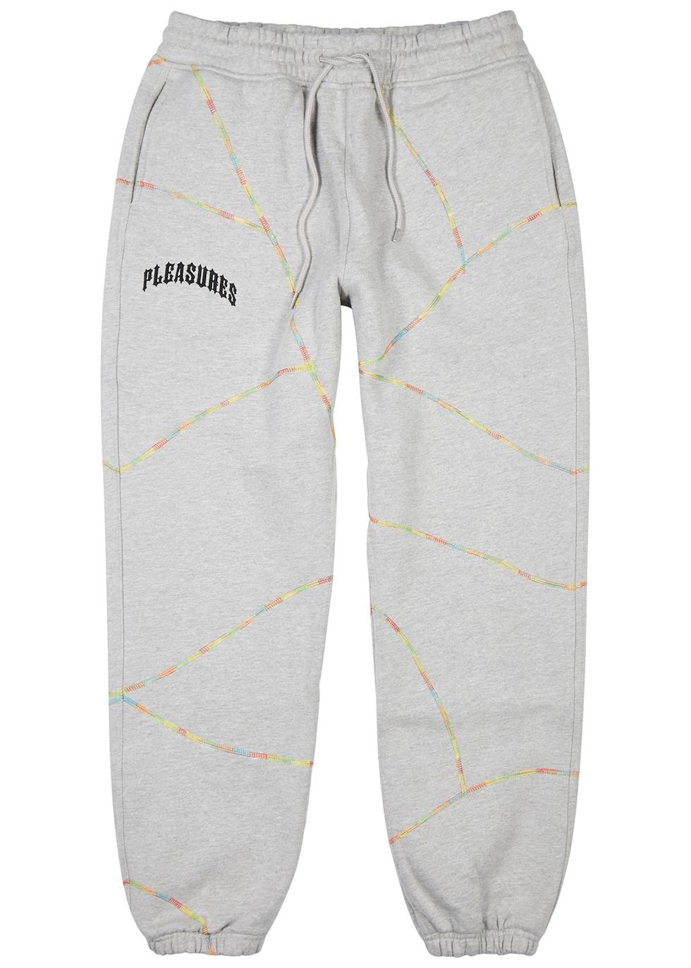 Destroyer grey cotton-blend sweatpants