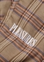 Orchestra brown plaid trousers - Pleasures