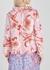 Poppy floral-print silk blouse - Stine Goya