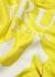 Yellow logo hooded cotton-blend sweatshirt - True Religion