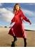 Penelope star print silk dress - Lisou