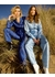 Salome comet print silk trousers - Lisou