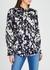 Tariana floral-print satin blouse - Joie