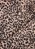 Pink leopard-print satin shirt - Equipment