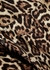 Rhaine leopard-print satin shirt - Equipment