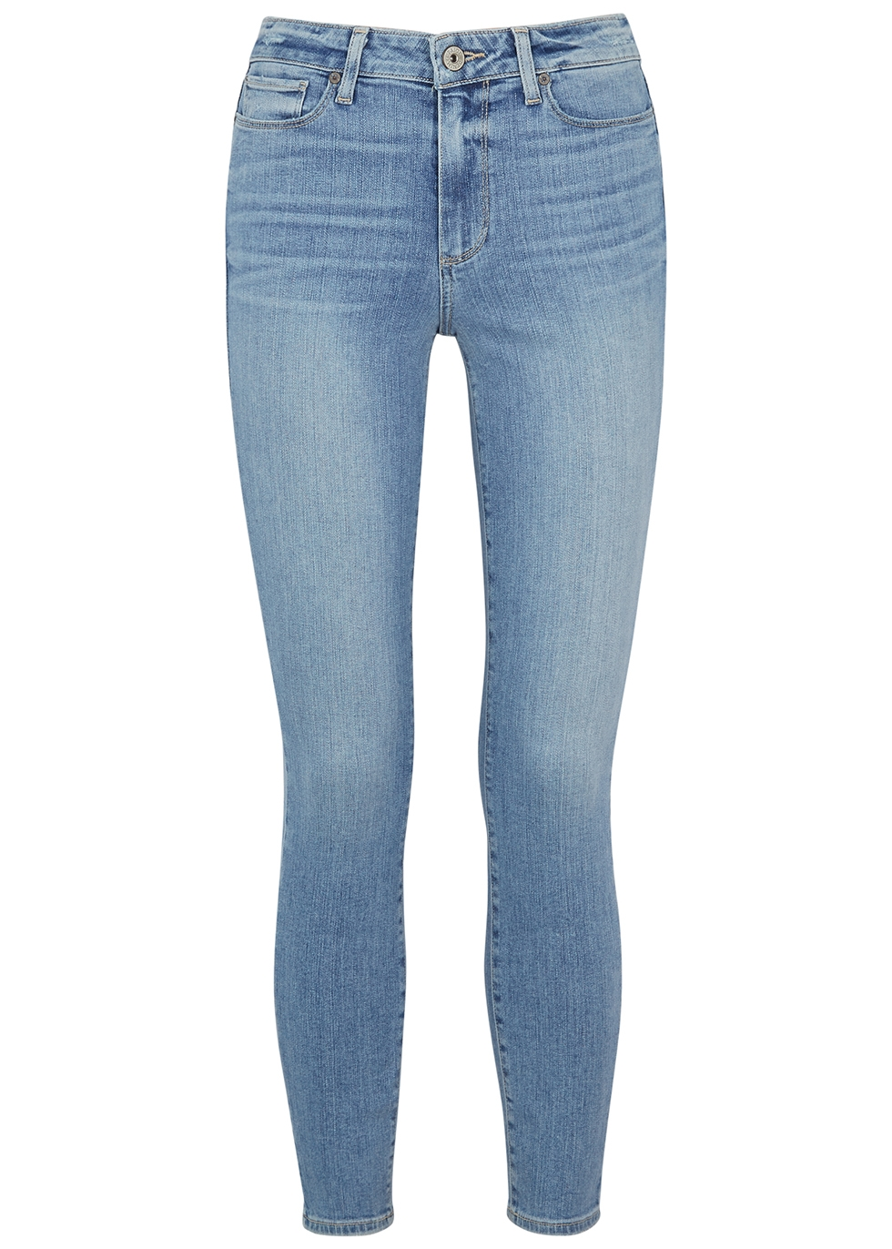 Hoxton Ankle light blue skinny jeans