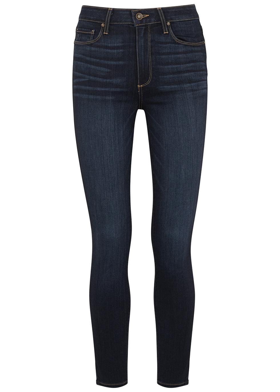 Hoxton Ankle indigo skinny jeans