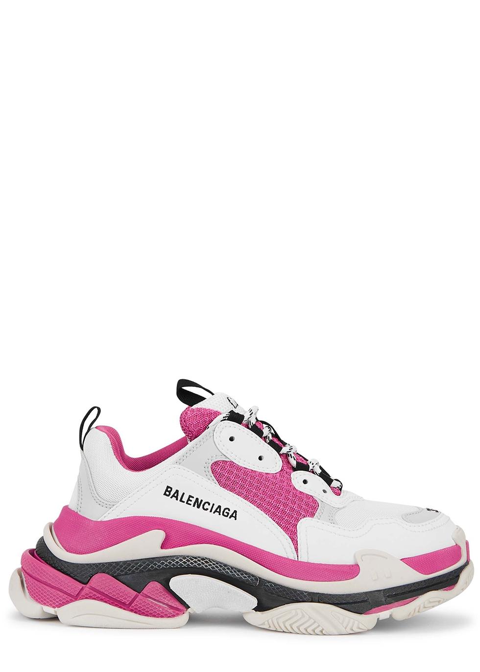 Satın Al Balenciaga Triple S Sneaker Erkekler Kadınlar Bej