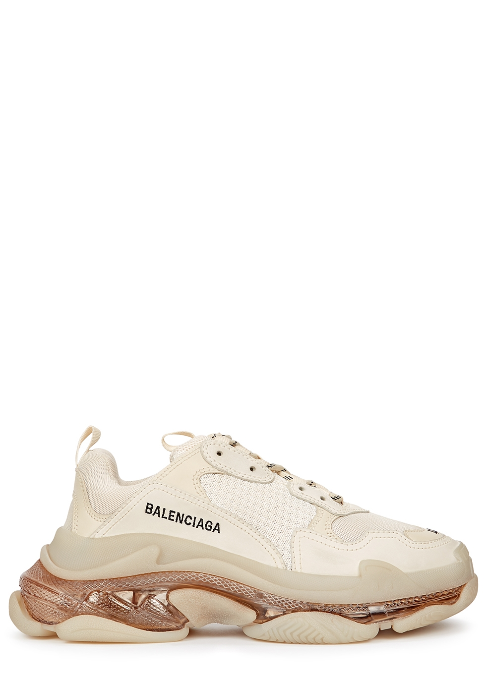 Balenciaga Triple S Taupe Multi Sneakers StockX