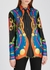 Printed silk shirt - Versace