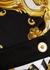 Baroque-print stretch-jersey wrap dress - Versace