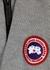 Fairhaven grey merino wool-blend jumper - Canada Goose